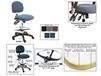 BENCHPRO??? ESD FABRIC INDUSTRIAL CHAIRS WITH ARMS